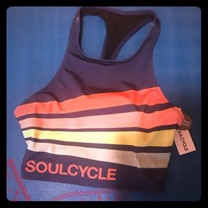 Soul cycle sports bra/ crop top